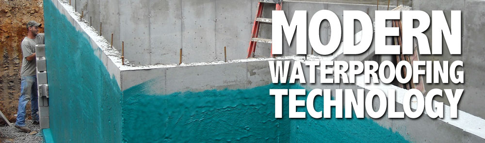 Modern Waterproofing Technology