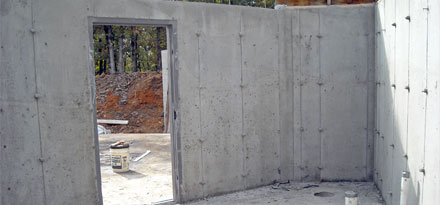 Poured Foundation Walls